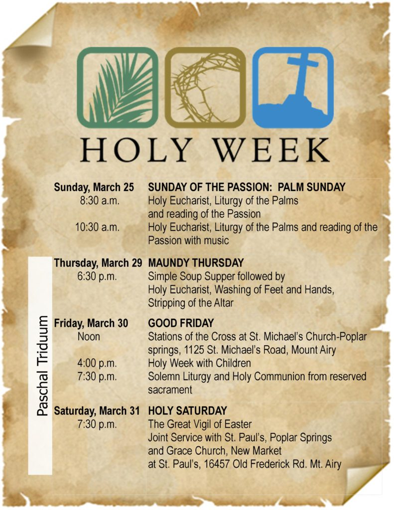 The Shell Newsletter - March 15, 2018 - St  James' Episcopal